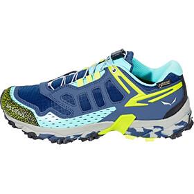 Salewa Ultra Train GTX Shoes Women Dark Denim/Aruba Blue